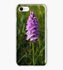 Spotted Orchid,  Donegal as iPhone case iPhone Case/Skin