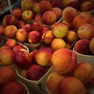 Peaches In Baskets by Amanda Vontobel Photography/Random Fandom Stuff