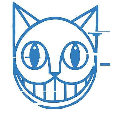 Blue Cheshire Cat by Needs-Must