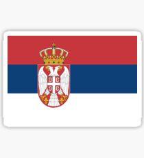 Serbia Flag Sticker
