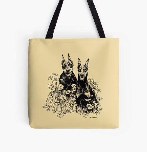 Daddy and Daughter All Over Print Tote Bag