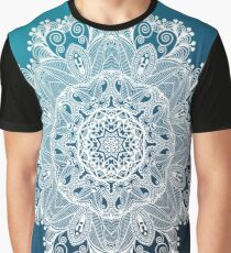 whire lace Graphic T-Shirt