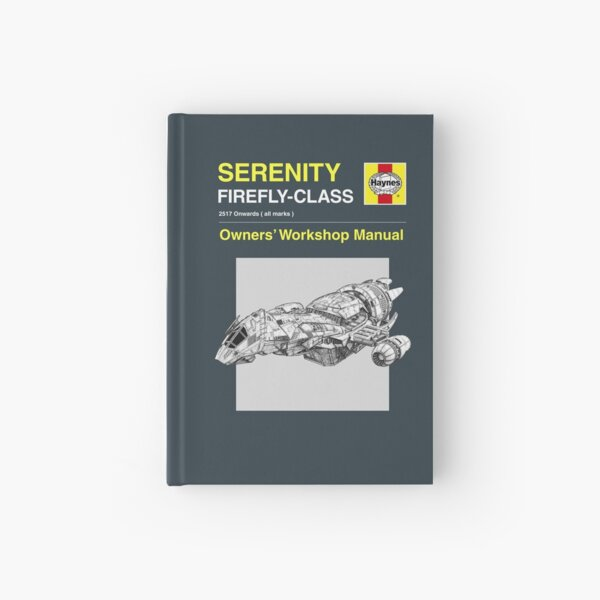 Serenity - Owners' Manual Hardcover Journal