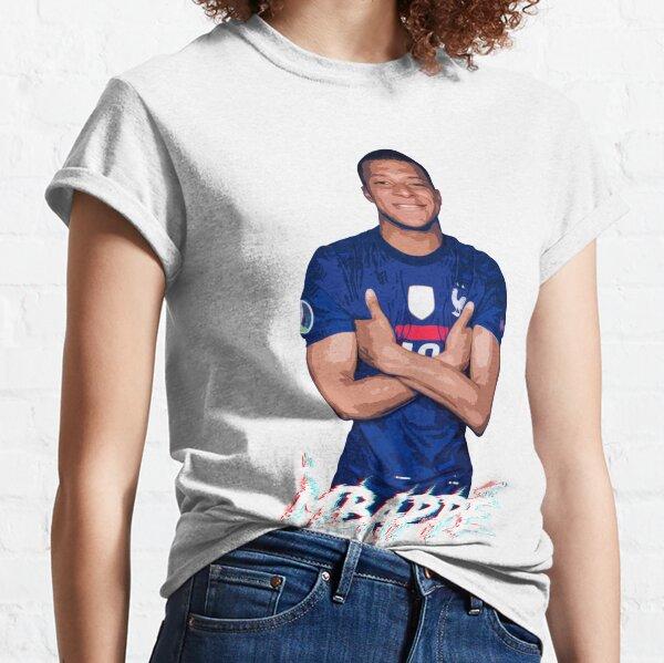 France Retro Football T-Shirt 70 S French Stick Man 2018 World Soccer T Shirt