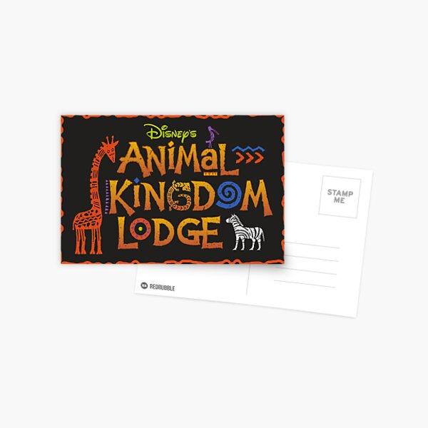 Animal Kingdom Lodge Postcard