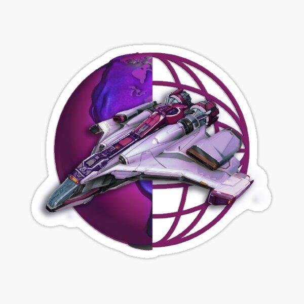 Starship fresh logo Sticker