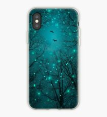 Silently, One by One, the Stars Blossomed (Geometric Stars Remix) iPhone Case