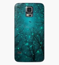 Silently, One by One, the Stars Blossomed (Geometric Stars Remix) Case/Skin for Samsung Galaxy
