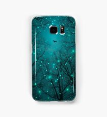 Silently, One by One, the Stars Blossomed (Geometric Stars Remix) Samsung Galaxy Case/Skin