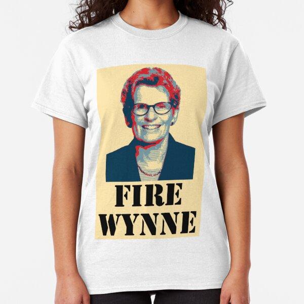Fire Kathleen Wynne Classic T-Shirt