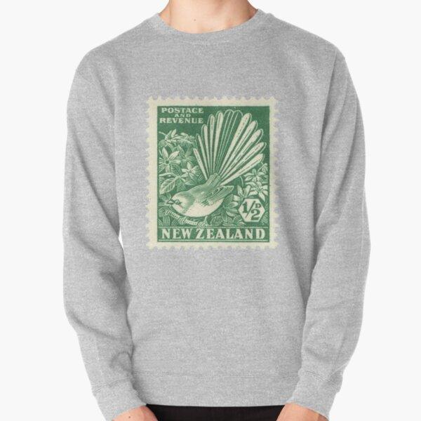 Fantail - New Zealand stamp Pullover Sweatshirt