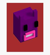 Voxel Bunnylord Photographic Print