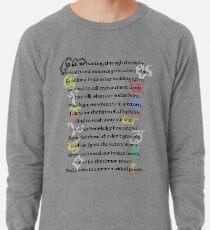 Shadowhunters Kinderreim Leichter Pullover
