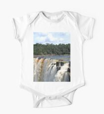 Hola from Kaieteur Falls One Piece - Short Sleeve