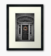 Union Hotel entrance Framed Print