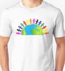 Kids/People United On Earth T-Shirt