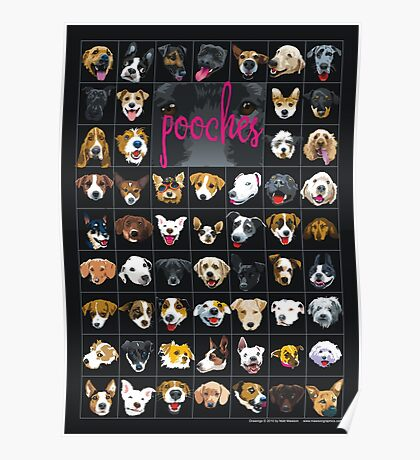 pooches Poster