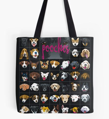 pooches Tote Bag