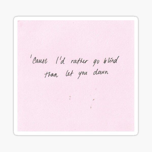 cocoon lyrics Sticker