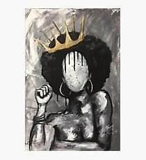 Naturally Queen Photographic Print