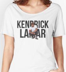 Kendrick Lamar - Text Portrait Women's Relaxed Fit T-Shirt