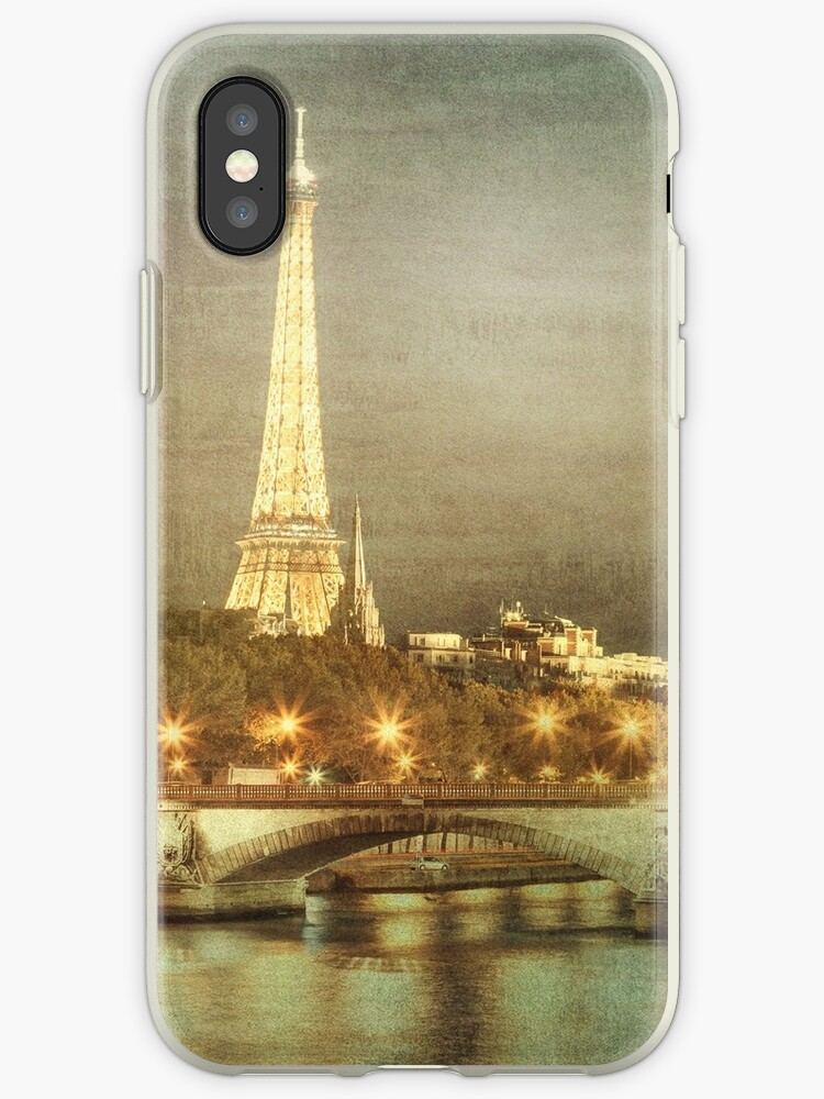 Eiffel tower at night by ninkydesigns