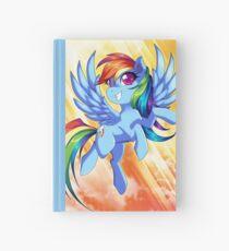 Rainbow Dash Hardcover Journal