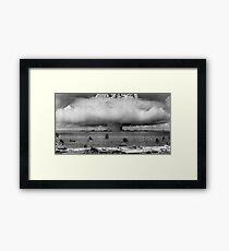 Bikini Atoll Nuclear Test Framed Print