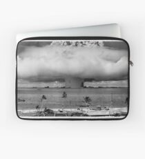 Bikini Atoll Nuclear Test Laptop Sleeve