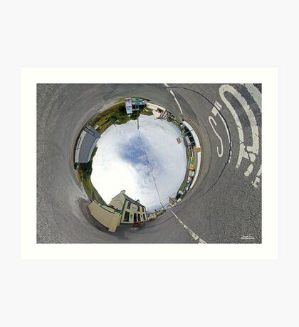 Glencolmcille - Biddy's Crossroads Pub(Sky-in) Art Print