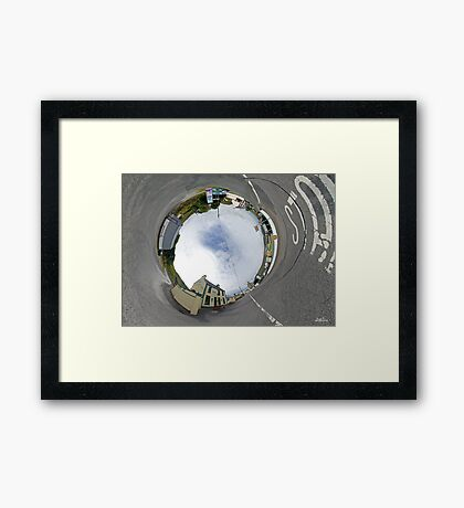 Glencolmcille - Biddy's Crossroads Pub(Sky-in) Framed Print
