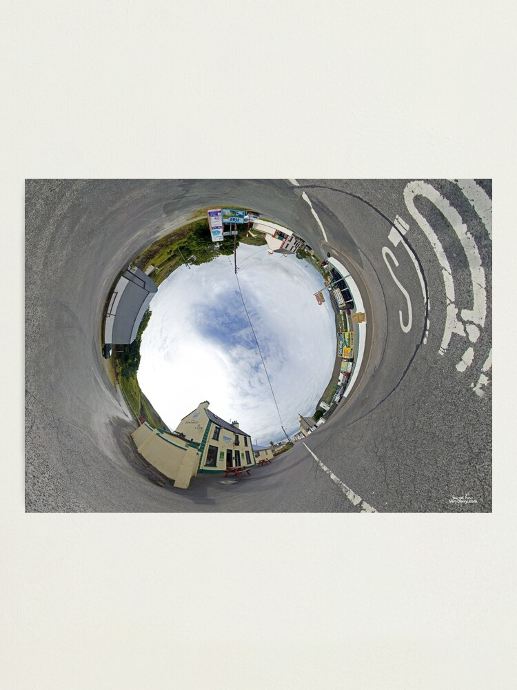 Glencolmcille Biddy S Crossroads Pub Sky In Photographic Print By Veryireland Redbubble