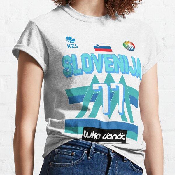 Luka Doncic Slovenija Fan Design  Classic T-Shirt