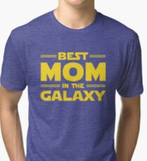 Star Wars - Best Mom in The Galaxy Tri-blend T-Shirt