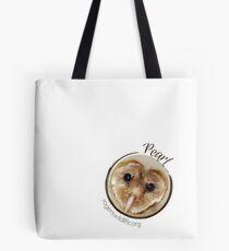 Pearl the Barn Owl Tote Bag