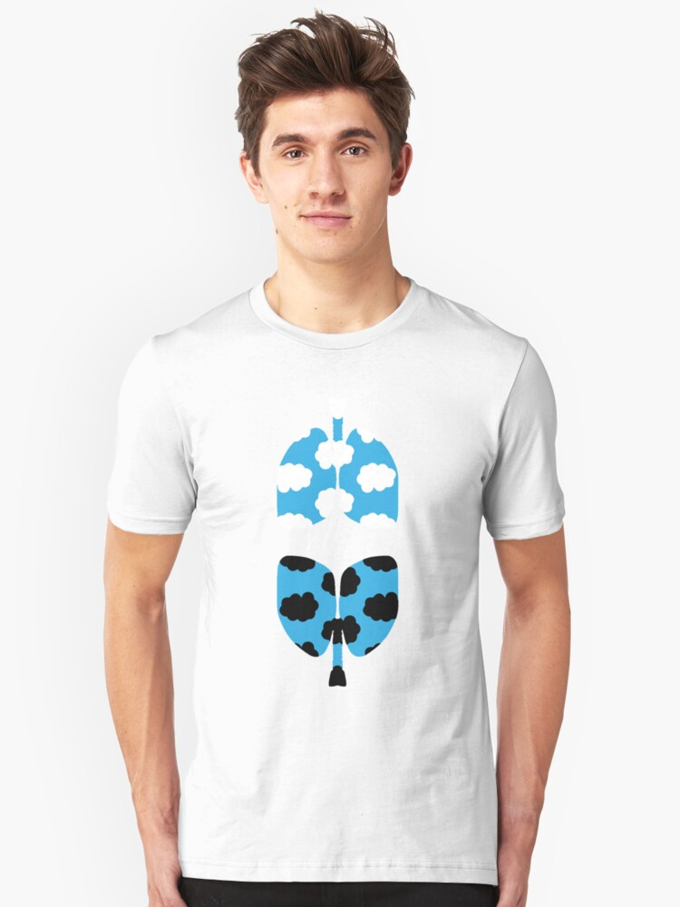 TFIOS Lungs Unisex T-Shirt Front