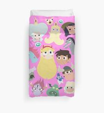 Star vs. the Forces of Evil Characters Duvet Cover