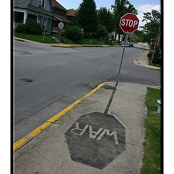 Stop War! by SamsShirts