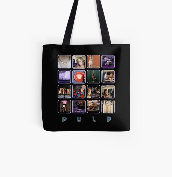 Pulp - Disco 2000 All Over Print Tote Bag