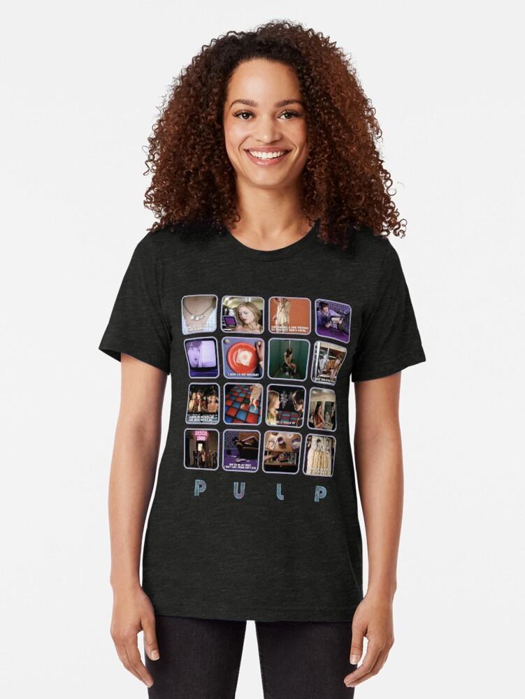 Alternative Ansicht von Zellstoff - Disco 2000 Vintage T-Shirt