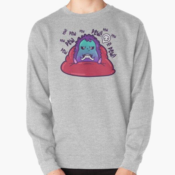 Pew Pew Pew Hedgehog Pullover Sweatshirt