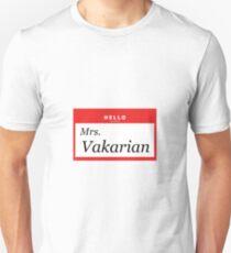 Hello, My Name is Mrs. Vakarian T-Shirt