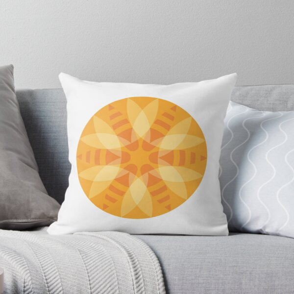Bee Sting Throw Pillow