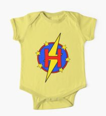 My Cute Little Super Hero - Letter H Kids Clothes