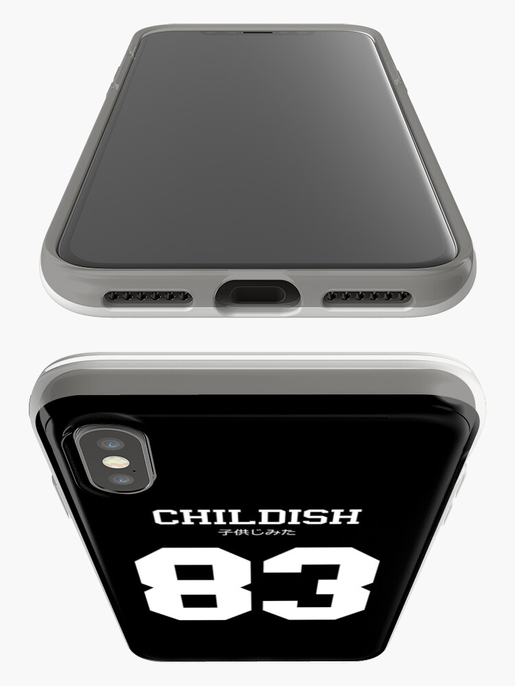 Alternate view of Childish Jersey iPhone Case & Cover