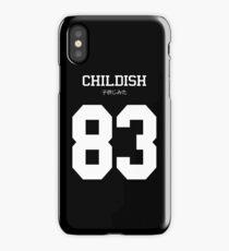Childish Jersey iPhone Case
