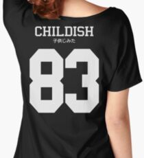 Childish Jersey Women's Relaxed Fit T-Shirt