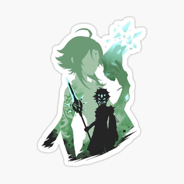Xiao Genshin Impact Glossy Sticker