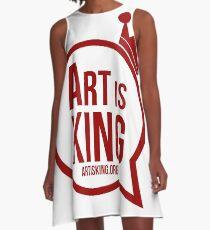 Art Is King  A-Line Dress