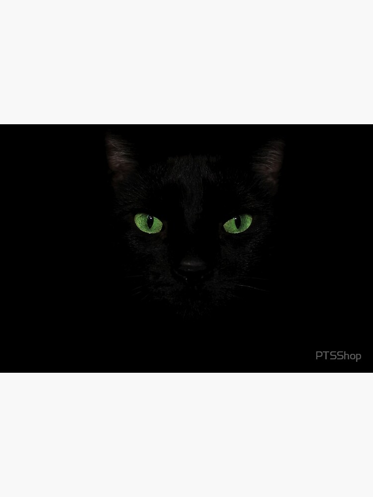 Black Cat Face  by PTSShop